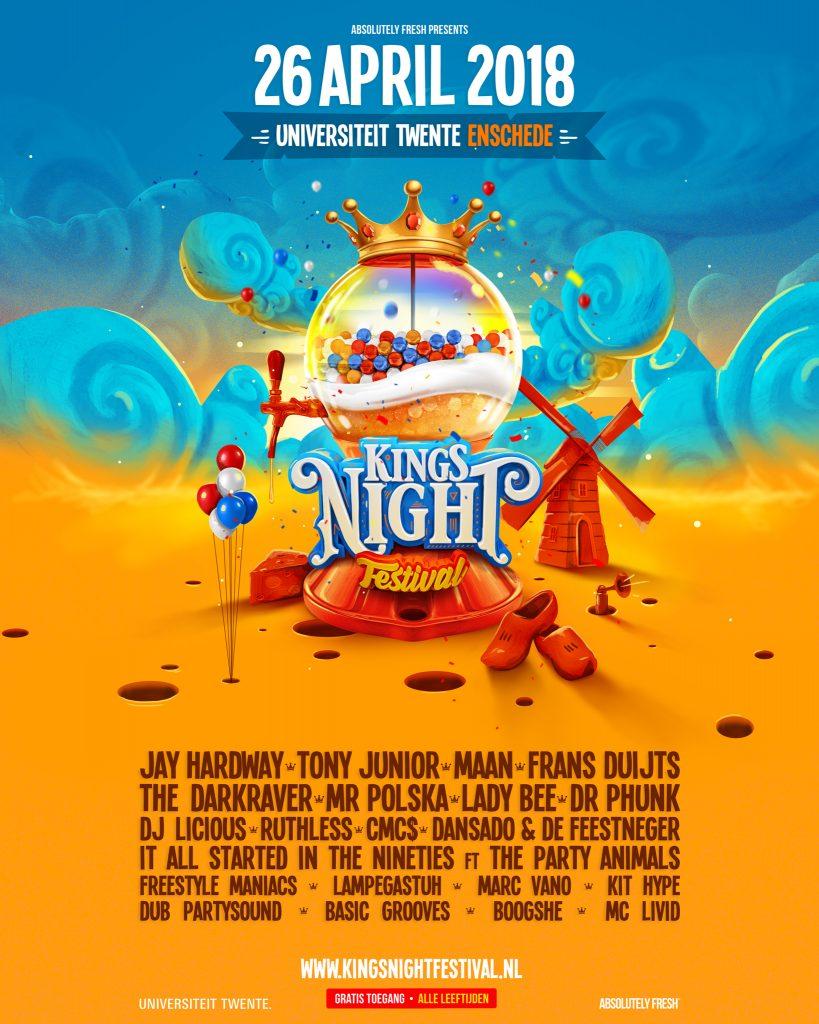 Kingsnight Festival Enschede
